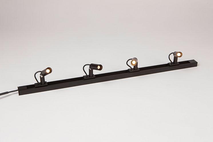 led lighting attracta magnetic track lighting system