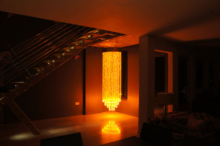 Fiber Optic Lighting Chandelier Manufacture And Design