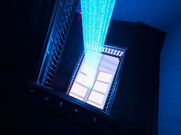 fibre optic lighting led lighting ufo lighting