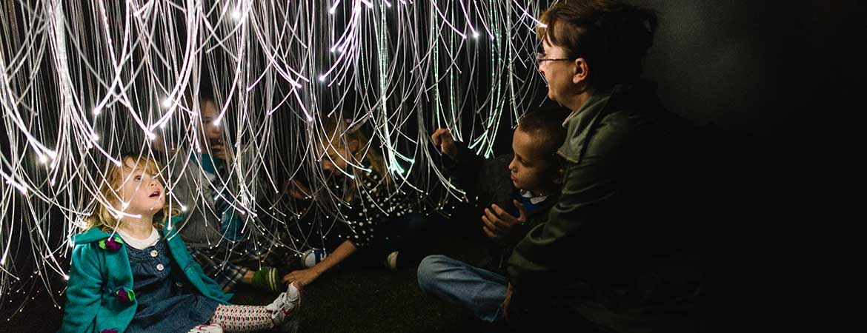Outdoor Fiber Optic Lighting Fiber optic lighting the garden of light fiber optic lighting in the garden of light workwithnaturefo