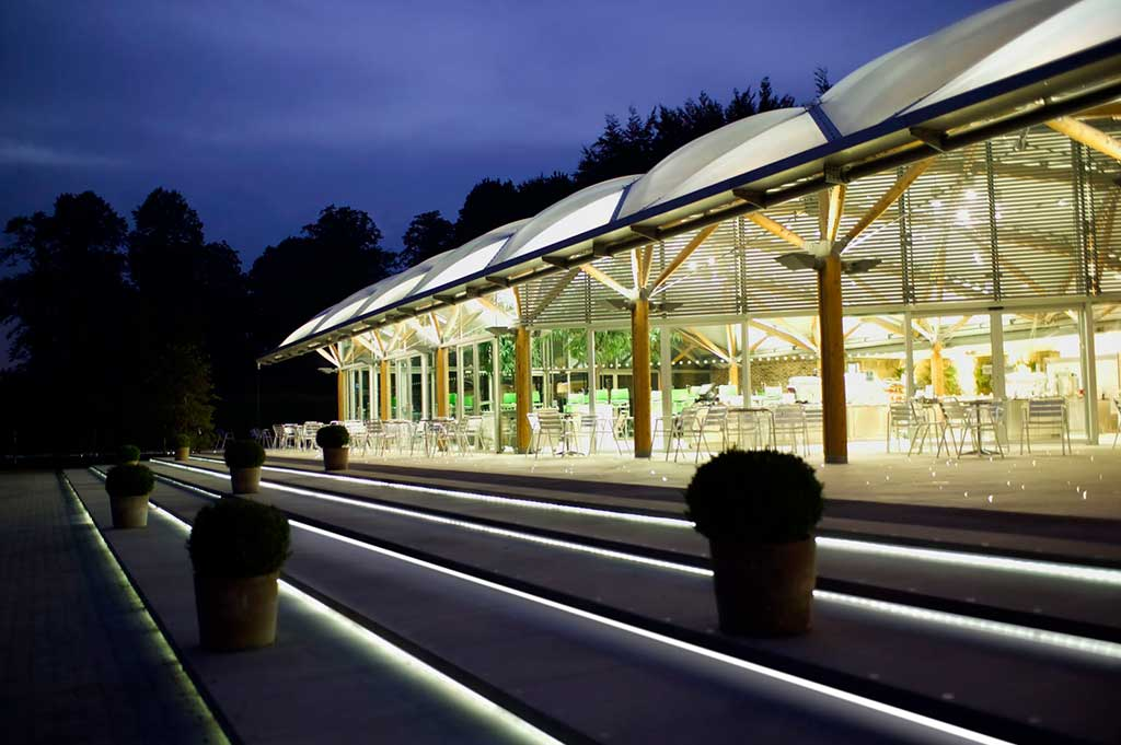 fiber optic lighting in alnwick castle gardens & Fiber Optic Lighting - Outdoor Lighting Projects