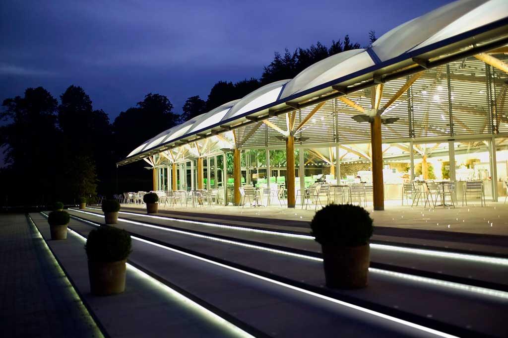 Outdoor Fiber Optic Lighting Fiber optic lighting outdoor lighting projects fiber optic lighting in alnwick castle gardens workwithnaturefo