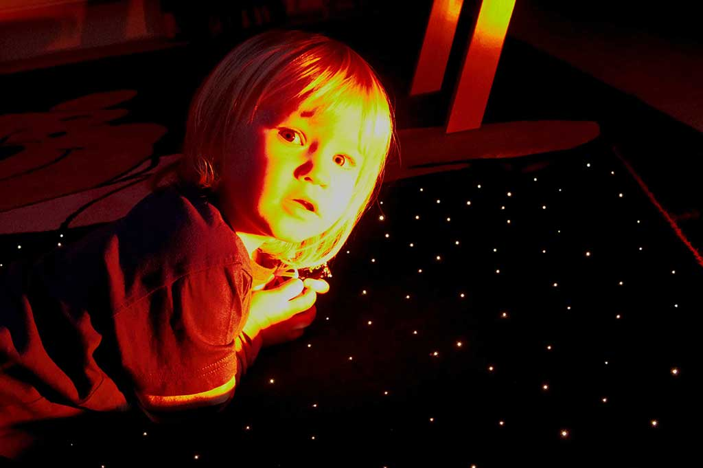 fiber optic star effect carpet