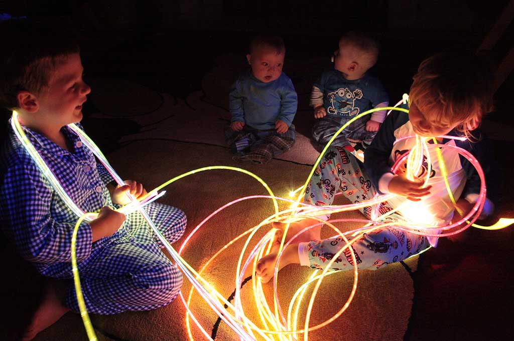 stariflex fiber optic harness for sensory use