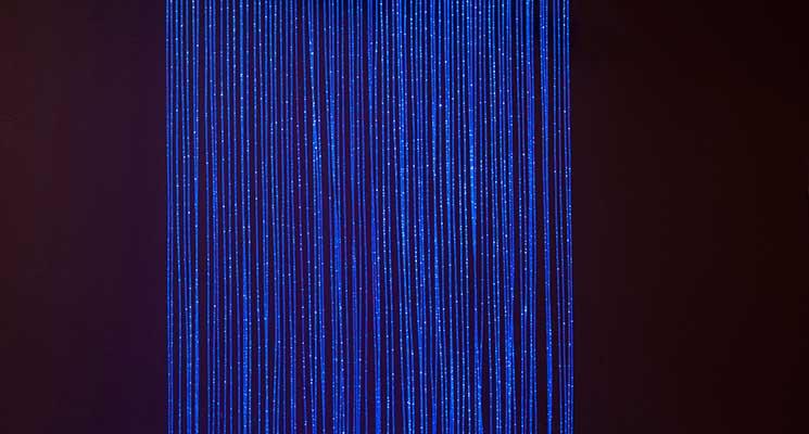 Fiber Optic Lighting Fiber Optic Sensory Wall Tube