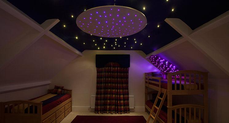 Fiber Optic Lighting Fiber Optic Star Ceiling Rings